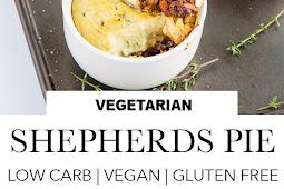 Vegan Shepherds Pie (Low Carb + Gluten Free)