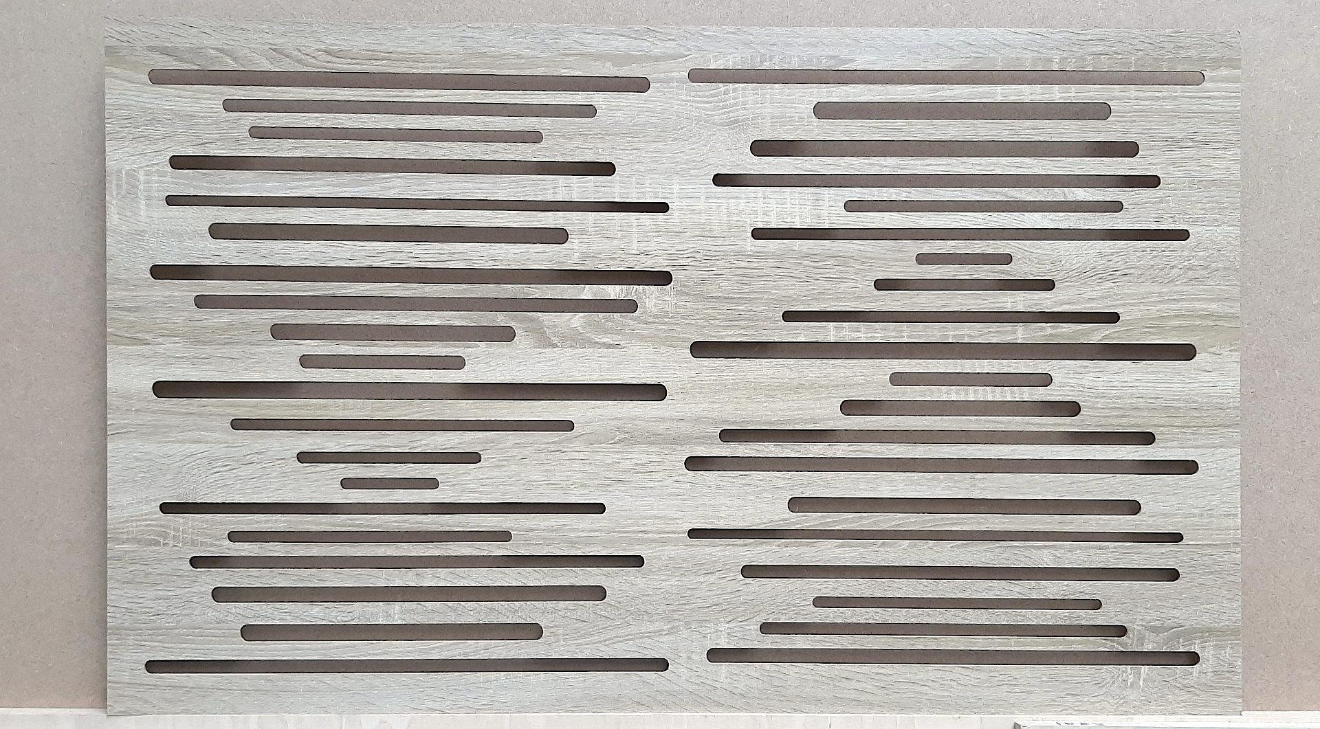 Panel akustyczny w kolorze drewna
