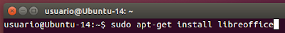 sudo apt-get install libreoffice