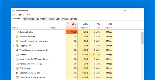 لماذا إعادة التشغيل الكثير مشاكل runtimebroker-high-cpu-ram.png