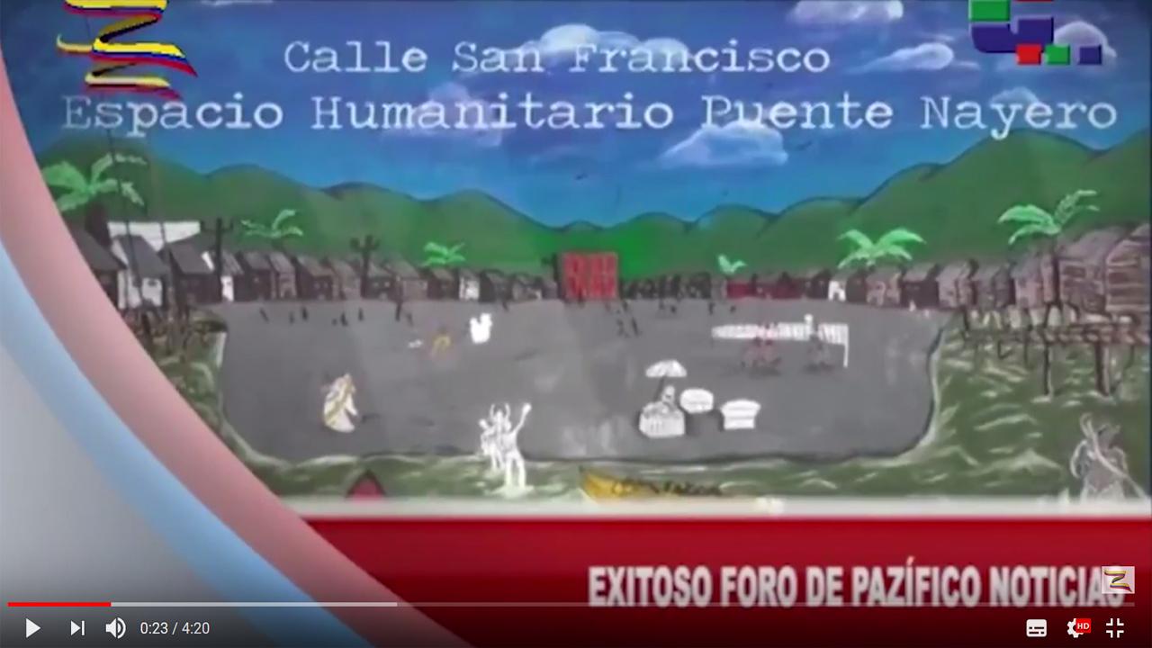 Líderes sociales de Buenaventura narran su experiencia de resistencia ante el paramilitarismo