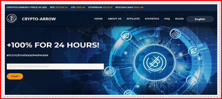 Мошеннический сайт crypto-arrow.ltd – Отзывы, развод, платит или лохотрон? Мошенники