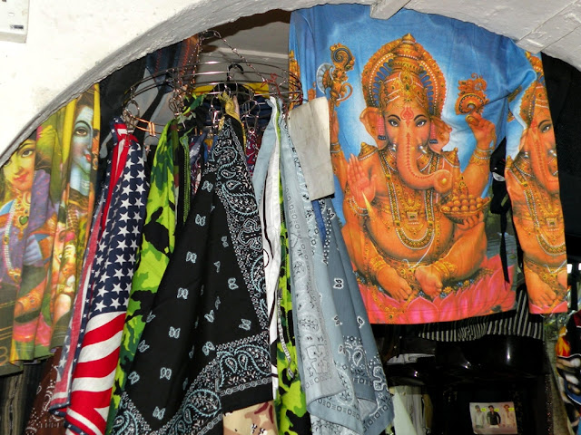 T-shirt with image of Ganesh in Little India Singapore