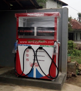 Mesin Pom Mini Digital Pertamini Portable