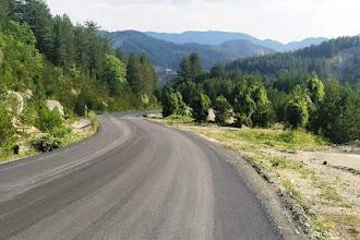 Ολοκληρώθηκαν οι εργασίες Αποκατάστασης του δρόμου Πεύκου προς Πευκόφυτο, προϋπολογισμού 600.000 €