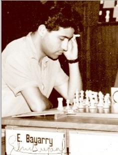 El ajedrecista Eduard Bayarri Ponsa
