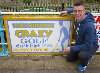 The Original Crazy Golf course in Skegness