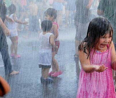 فوائد الاغتسال بماء المطر