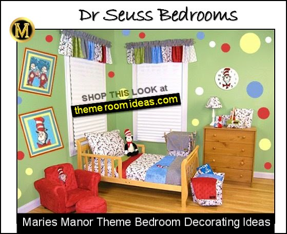 Dr Seuss Bedding-dr seuss decorating ideas kids theme bedrooms dr seuss theme