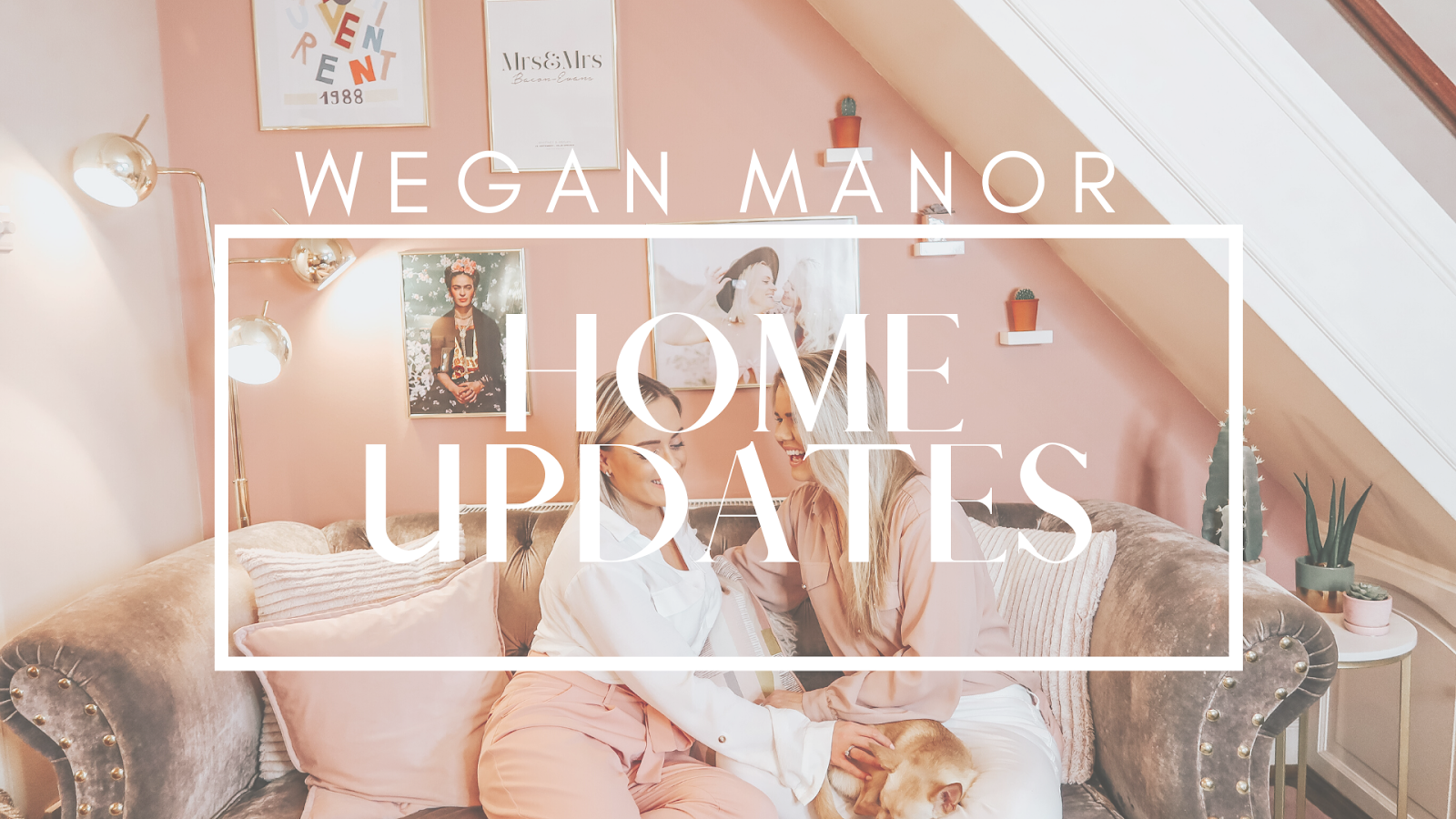 home decor updates, wegan manor