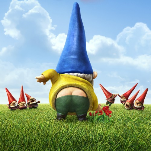 Gnome In Garden: Wallpapers: Gnomeo & Juliet 2011