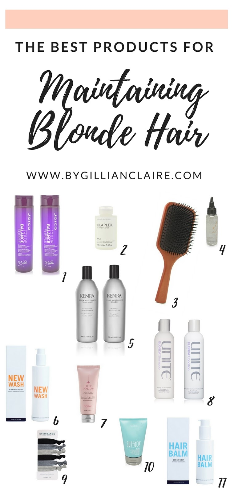 So After Much Trial And Error I Ve Put Together My List Of The Best Products For Maintaining Blonde Hair