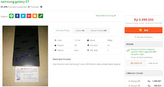 Harga baru Samsung Galaxy S7 Garansi Resmi SEIN di Tokopedia - LowProfile Cellular