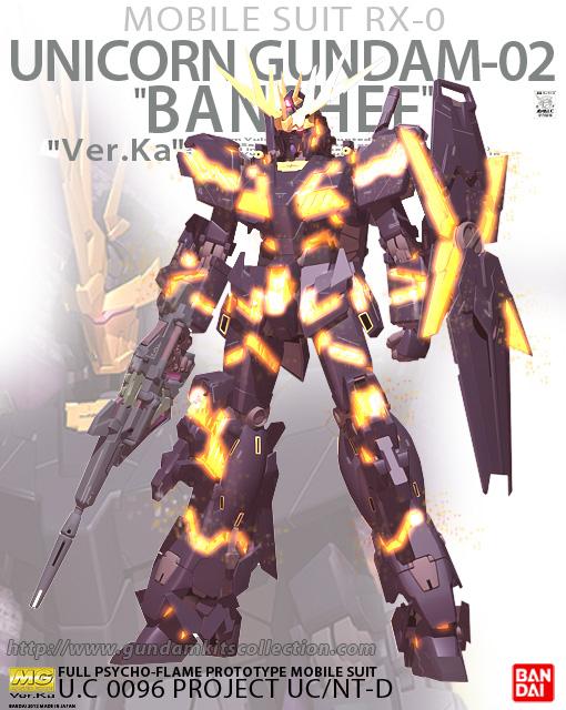 1 100 Mg Rx 0 Unicorn Gundam 02 Banshee Ver Ka Box Art Gundam