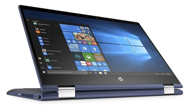 HP Pavilion x360 14-cd0010ns: diseño convertible 4 en 1