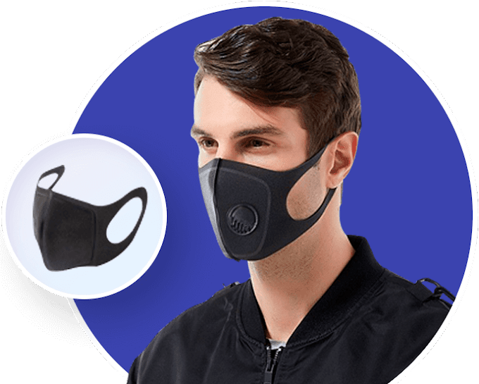 Anti-Pollution Breathing Mask, Dust Free Breathing Mask