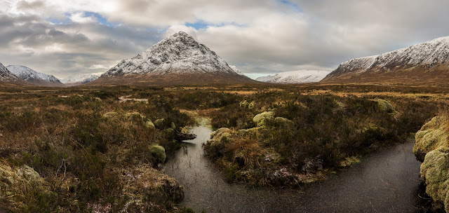 Photo of another view of Buachaille Etive Mor in Glencoe