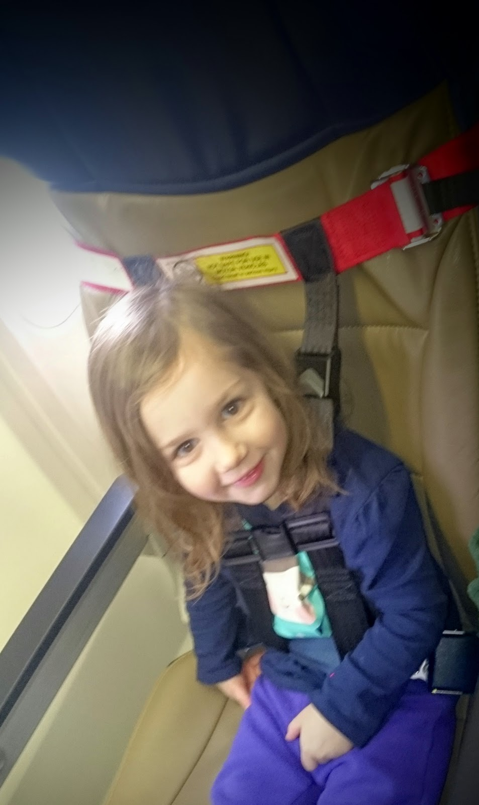 Airplane travel without a toddler car seat - Cares Harness Review ...