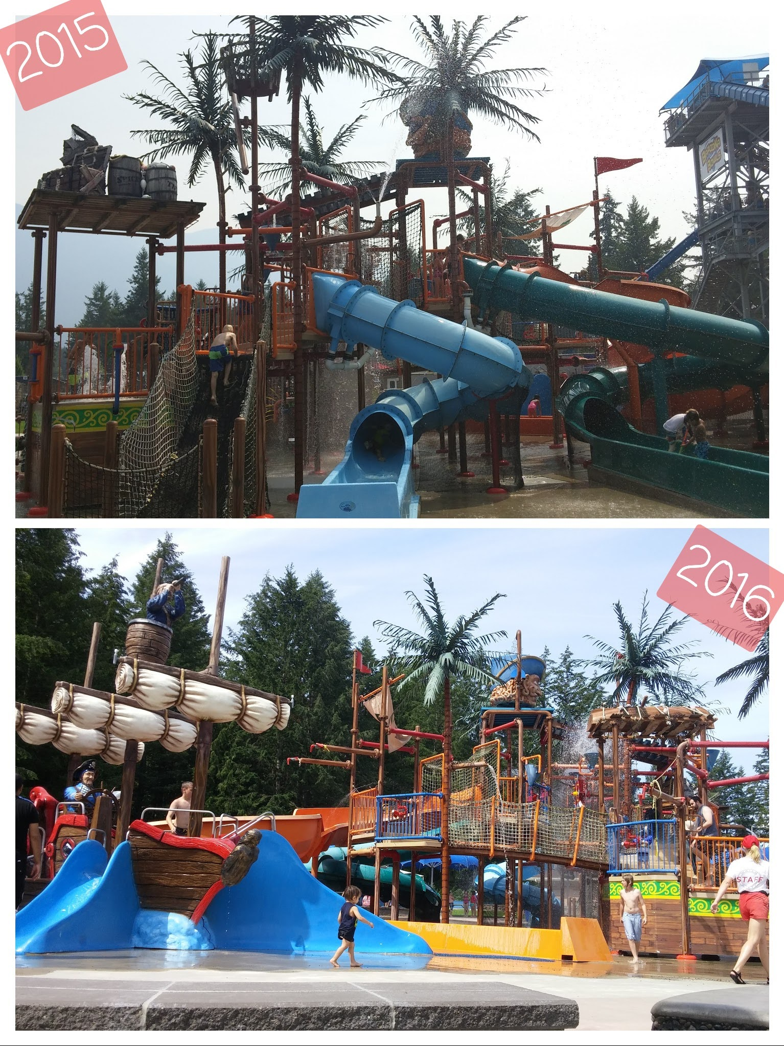Clutus Lake Waterpark / Pirates children play area