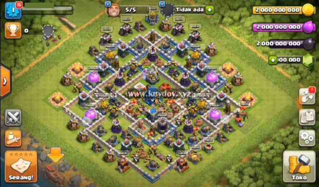 Download Apk mod COC Terbaru