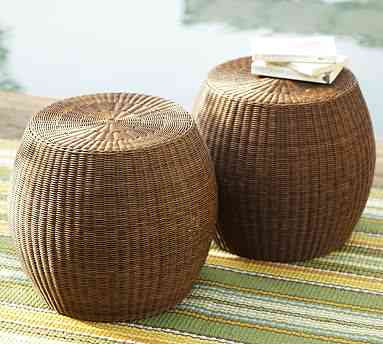 Home Christmas Decoration Wicker And Rattan Outdoor