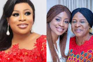 Sinach and her mum
