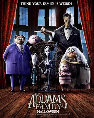 La Familia Addams  - 2019 - Pelicula animación - poster