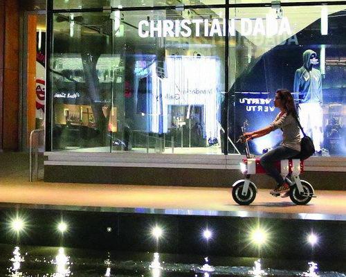 Tinuku.com Vanda Electrics launches electric bike Motochimp in Shenzhen International Industrial Design Fair in China