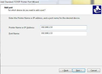 hướng dẫn cài đặt máy in canon bằng địa chỉ IP