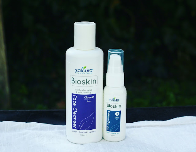 Bioskin Face Cleanser is an effective and pleasant to use gentle facial cleanser for dry and sensitive skin. Free from SLS, parabens, synthetic fragrances and harsh chemicals.  97% natural, with nourishing Sea Buckthorn, vital for skin healing and skin repair, Jojoba Oil for nourishment, and Rosemary to help improve cell renewal.  Low-foaming. Suitable for all skin types, particularly those prone to dryness and sensitivity. Suitable for use during pregnancy and while breast-feeding.