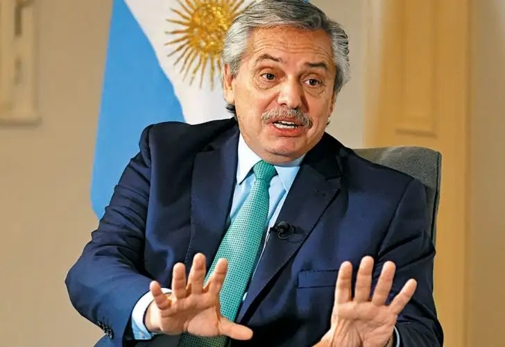 """Surprise about the health of Argentine President """"Alberto Fernandez"""""""