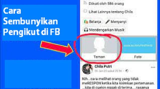 Cara Menyembunyikan Pengikut di FB