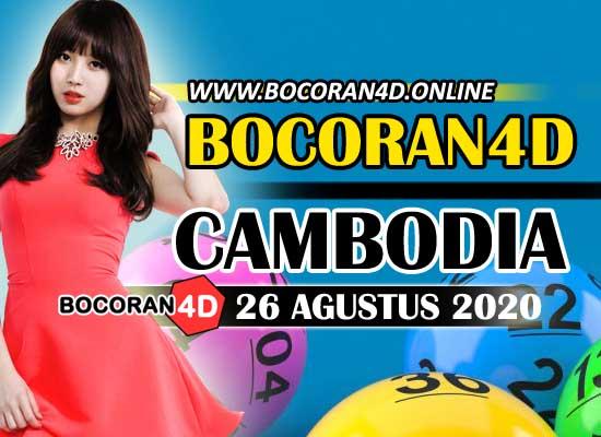 Bocoran Misteri 4D Cambodia 26 Agustus 2020