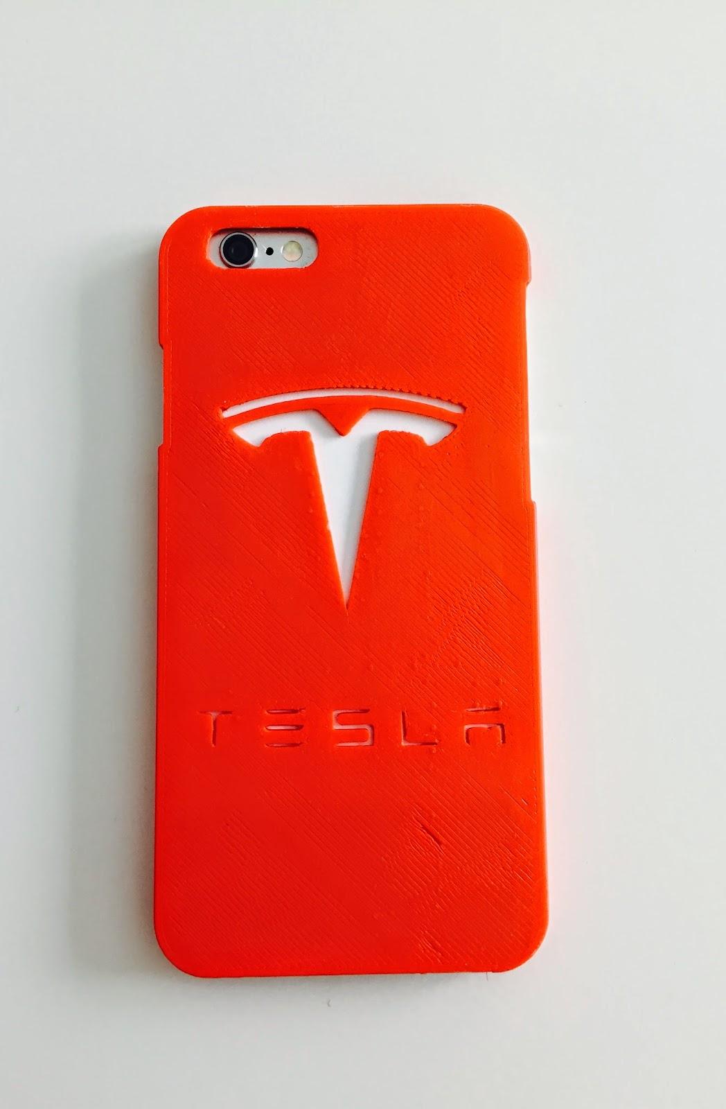 quality design 0031b 1fcea Jack's Blog: Cool Tesla Phone Cover made by a 3D Printer