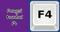 Mengenal Fungsi Tombol F4 Pada Microsoft Office