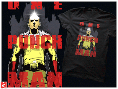 camiseta_unisex_one punch man_T-Shirts_mugs_buy_online_graphic_manga_anime_otaku_comprar