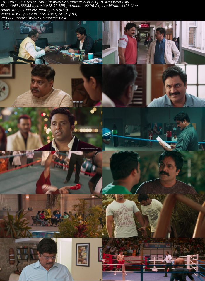 Bedhadak (2018) Marathi 480p HDRip x264 350MB Movie Download