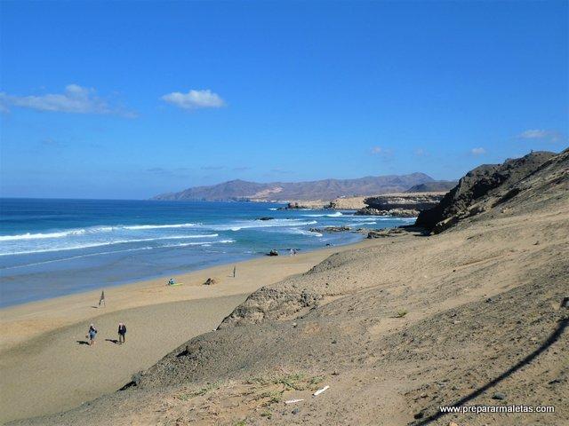 visitar las playas del sur de Fuerteventura