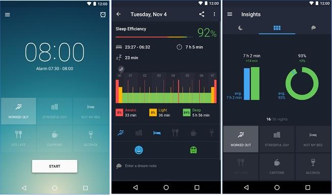 تطبيق مقيد لتتبع عادات نومك والمساعدة في تحسينها بشكل ذكي Sleep Better APK-iOS