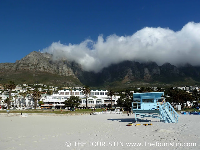 Travel South Africa. Cape Town For Beginners. Camps Bay Beach. Twelve Apostles. Clouds. Beach house