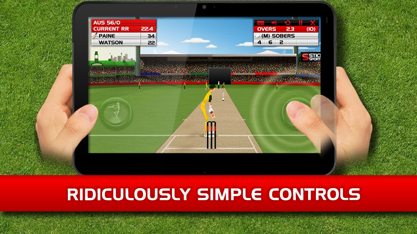 How to play stick cricket super league on pc with memu android.