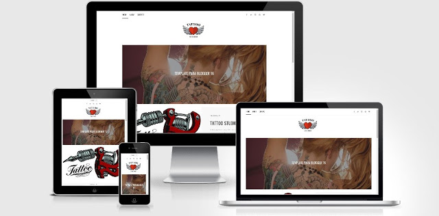 O TATTOO STUDIOS Blogger Template