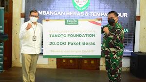 "Pangdam III/Siliwangi ; ""Sebanyak 20.000 Paket Beras, Siap Disalurkan Melalui Kodim dan Koramil"""