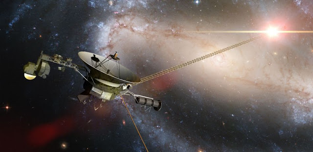 Voyager 1: NASA 40-Year-Old Satellite In Space