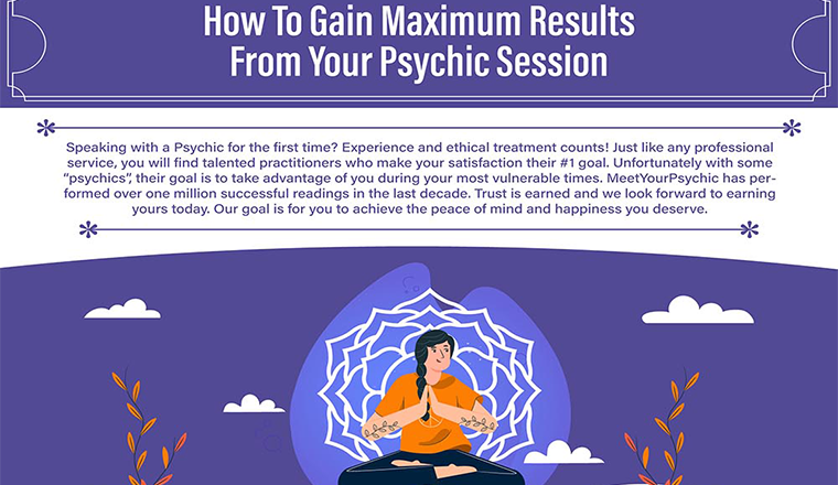 How to Gain Maximum Benefit From Your Psychic Session #infographic