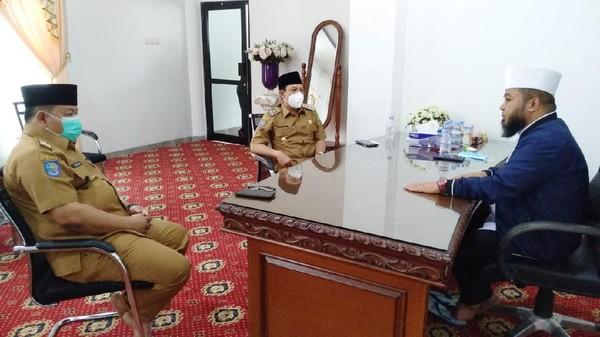 Rumah Dinas Dijadikan Mal Pelayanan Publik, Walkot Bengkulu Berkantor di Masjid