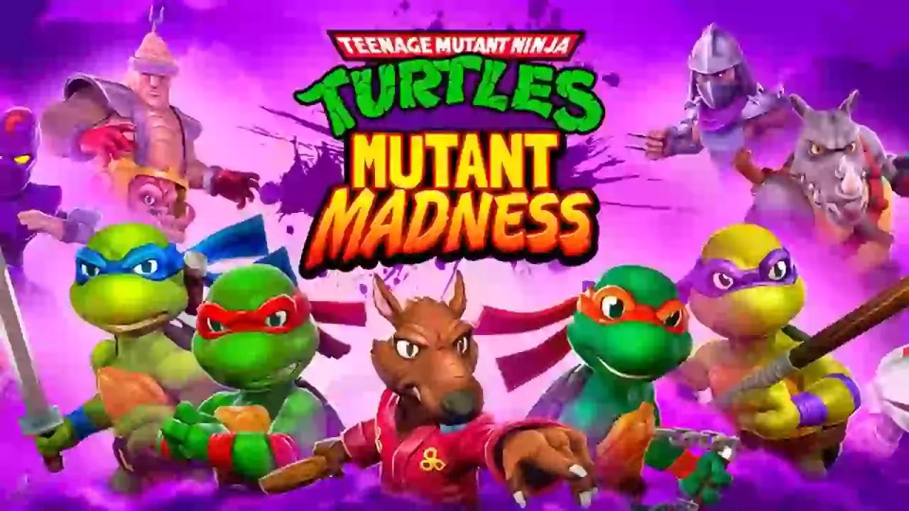 انضم إلى سلاحف النينجا الأسطورية في TMNT: Mutant Madness!