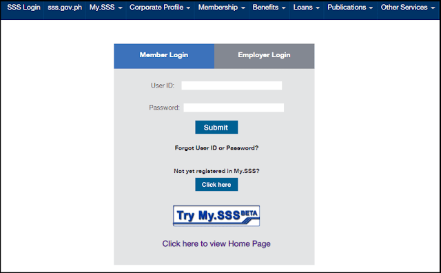 register sss online