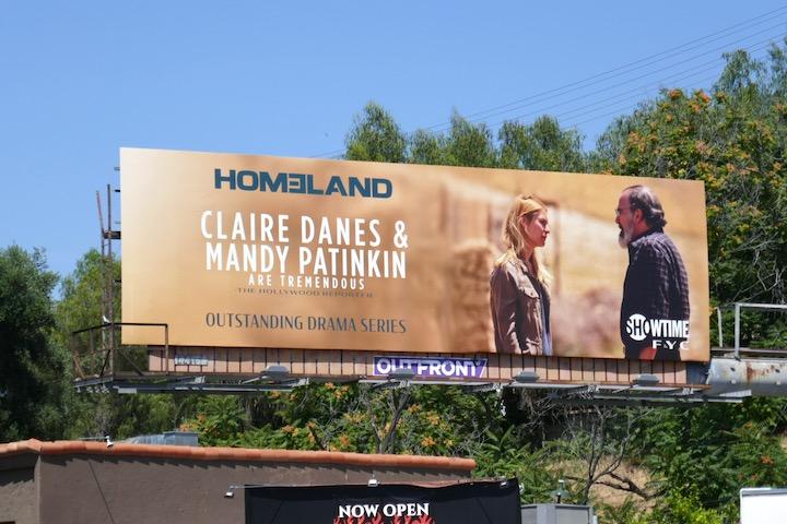 Homeland final season Emmy FYC billboard