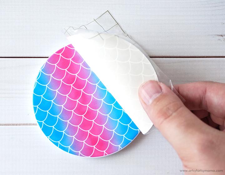 Peeling Away Cricut Infusible Ink